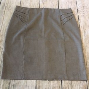 NY & C Houndstooth Print Skirt - 16